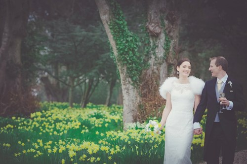 Spring-time wedding - the grounds