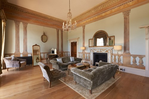 Drawing Room at Rockbeare Manor