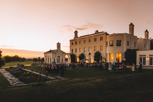 Rockbeare Manor at Sunset